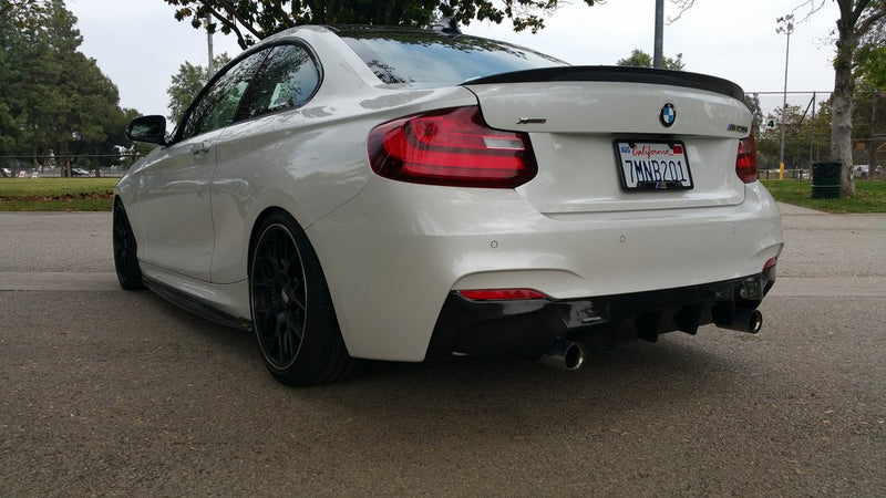 DINMANN CF - BMW F22 2 SERIES - REAR DIFFUSER