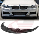 Hard Park Pro -2012-2016 BMW 3-Series F30/F31 Carbon Fiber Type AK2 front lip M-sport package bumper only