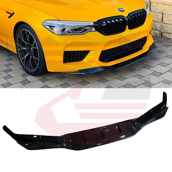 Hard Park Pro - 2017-2020 BMW M5 F90 Carbon Fiber Type RK lower front lip