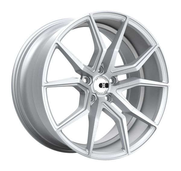 XO VERONA 22x9.0 5/120 ET20 CB72.56 SILVER W/BRUSHED FACE (2290VER205120S72)