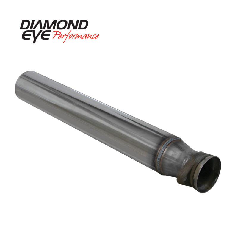 Diamond Eye STRTR PIPE 4in DIAGNOSTICS ONLY SS 94-97 FORD 7.3L F250/F350 NFS W/ CARB EQUIV STDS (164006)