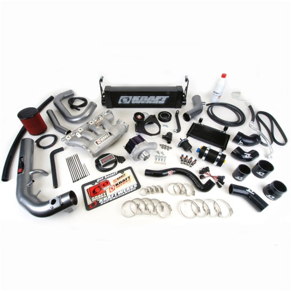 KraftWerks 06-11 Honda Civic Si Supercharger Kit w/ FlashPro - Black Edition (150-05-1331B)