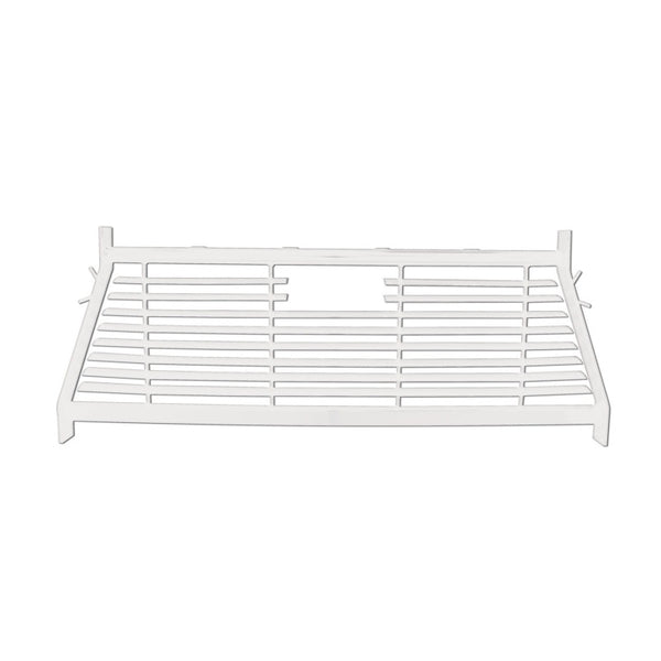 Westin 1999-2018 Toyota/GMC/Chevrolet/Ford Silverado/Sierra 1500/2500/3500 HD Headache Rack - White (57-8023)
