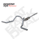 Diamond Eye KIT 3in CB DUAL GAS SS CHEVY/GM 4.3L 5.3L 1500 (K3126S)