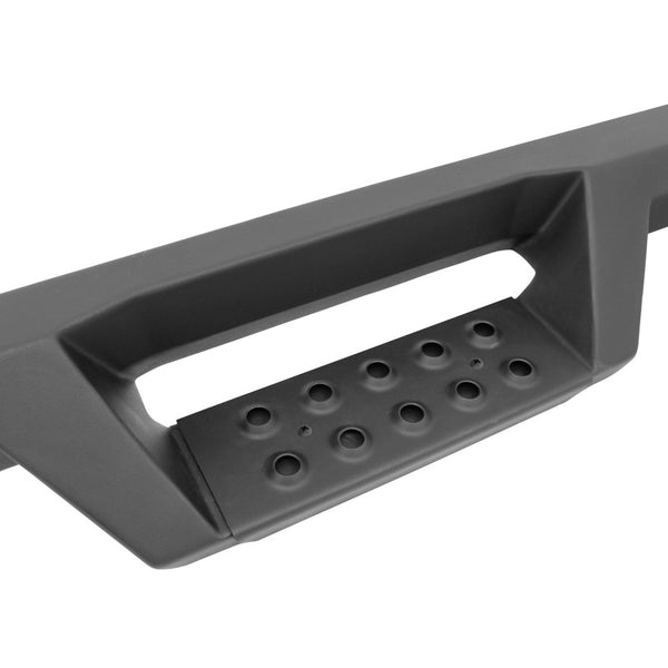 Westin/HDX 15-18 Chevrolet/GMC Colorado/Canyon Crew Cab Drop Nerf Step Bars - Textured Black (56-14015)