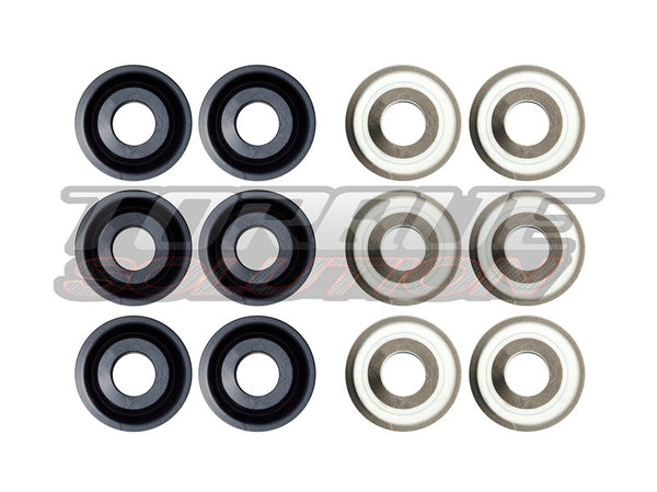 Torque Solution Solid Rear Subframe Bushings: Porsche 911 996/997 ALL (TS-POR-005)