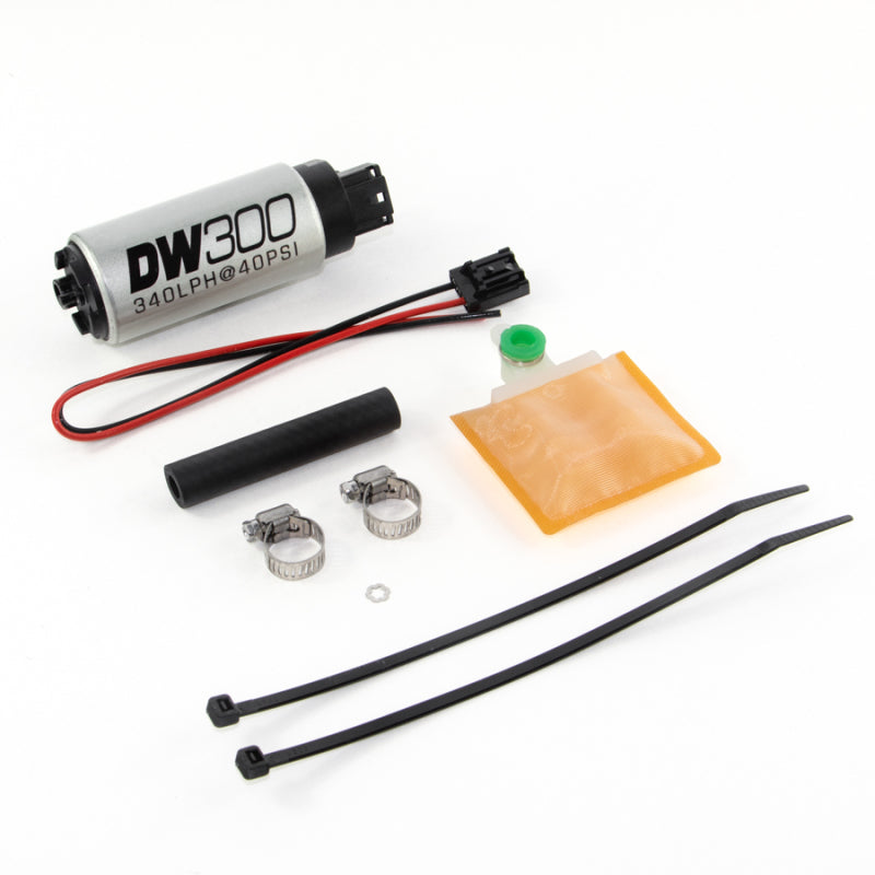 DeatschWerks 320 LPH In-Tank Fuel Pump w/ 90-94 Eclipse FWD Set Up Kit (9-301-0883)