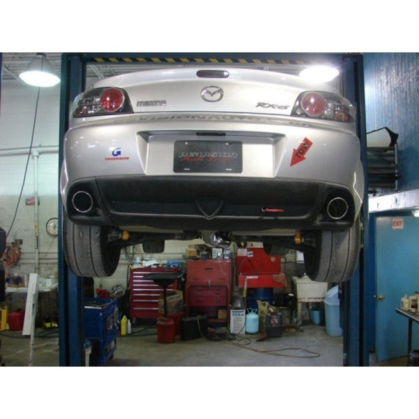 Turbo XS RX8 Catback Exhaust (Gen 2 Requires Longer Hangers) (txs-RX8-CBE)