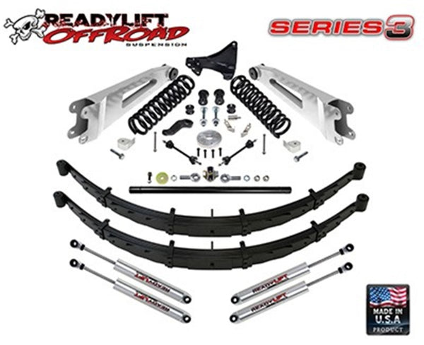 ReadyLift Suspension 11-15 Ford F250 Off Road 6.5in Lift Kit Series 3 (49-2602)