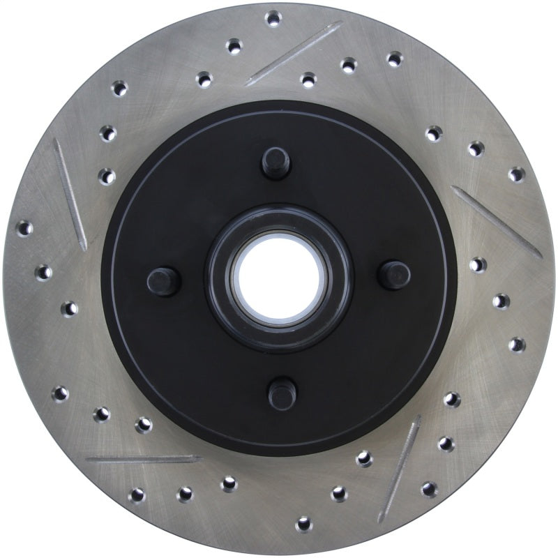 StopTech Slotted & Drilled Sport Brake Rotor (127.61026R)