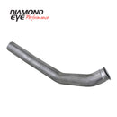 Diamond Eye DWNP 4in TB SGL/DUAL AL DODGE 5.9L 2500/3500 03-04.5 (222001)