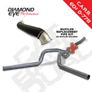 Diamond Eye KIT 4in CB MRP DL w/ TDP SS 04-05 Chevy/GMC 6.6L Duramax 2500/3500 (K4125S-RP)