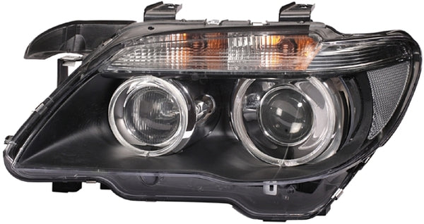 Hella 02-07 BMW 7 Series Bi-Xenon Headlight Left Clear Turn Signal (009044531)