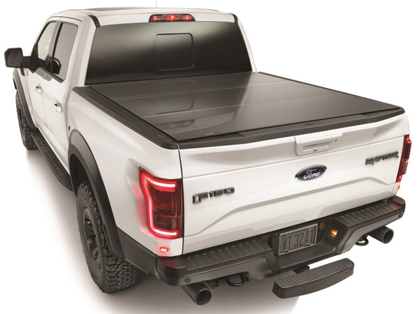 WeatherTech 2017+ Ford F-250/F-350/F-450 Black Alloy Truck Bed Cover (8HF010046)