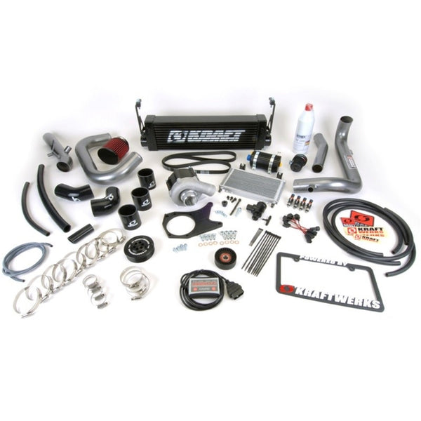 KraftWerks 06-11 Civic Black Series Supercharger Kit w/ FlashPro (R18) (150-05-1401B)