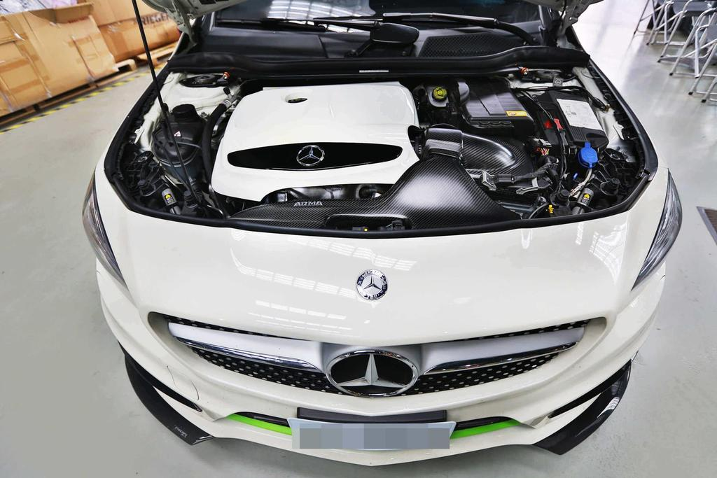 ARMA Speed - MERCEDES-BENZ W176 CLA250 - HYPERFLOW CARBON FIBER COLD AIR INTAKE SYSTEM