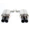 Dinan Free Flow Exhaust BLK Tips (dinD660-0017-BLK)