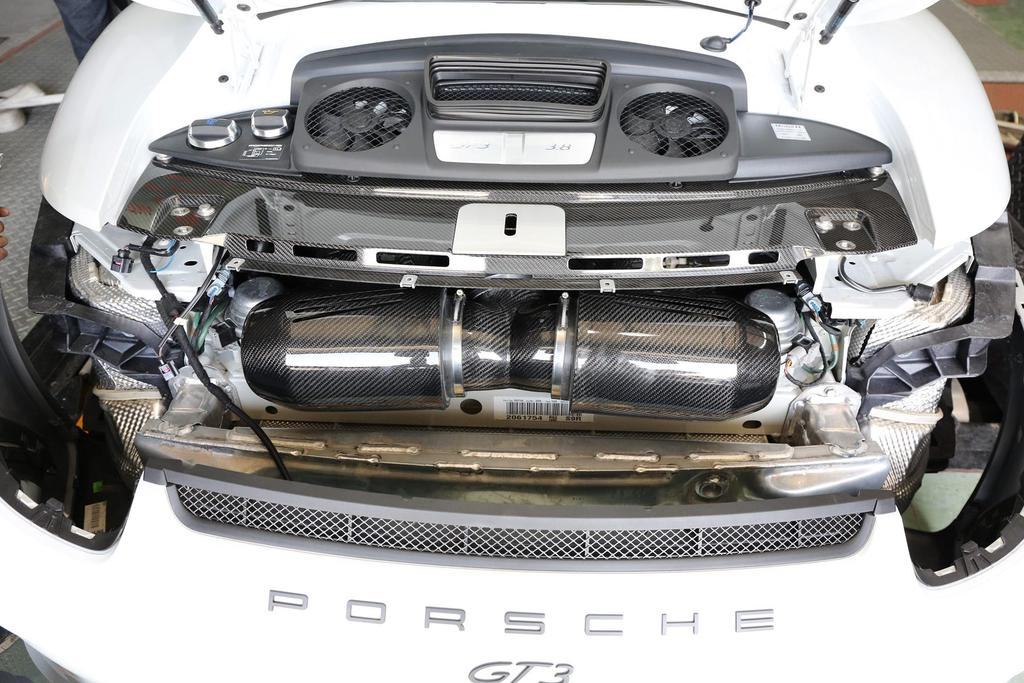 ARMA Speed - PORSCHE 911 (991) GT3 - HYPERFLOW CARBON FIBER COLD AIR INTAKE SYSTEM