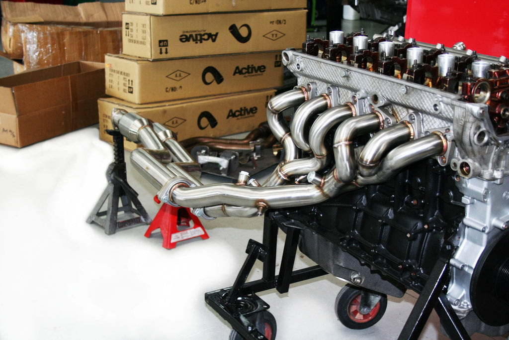 Active Autowerke - BMW E46 M3 HEADER BY BMW TUNER, ACTIVE AUTOWERKE