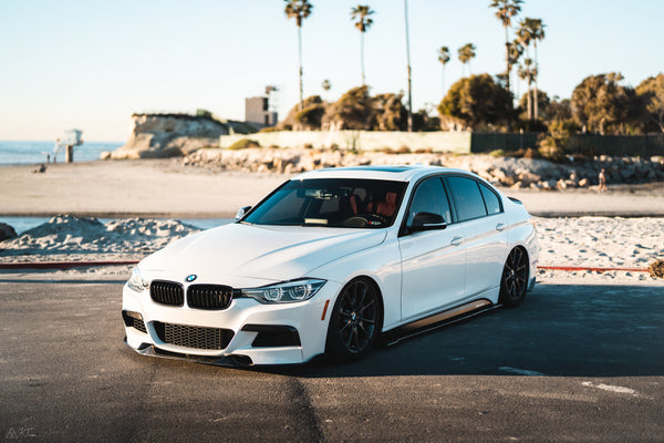 Morph Auto Design - BMW F30 3 SERIES FRONT LIP