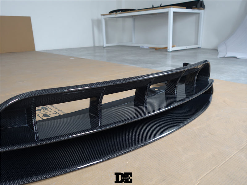 Full Carbon Fiber DE Style Lip Kit For Tesla Model X With Spoiler