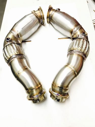 Evolution Racewerks - BMW X5M / X6M (S63TU Engine) Catless Downpipes