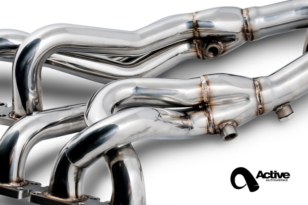 Active Autowerke - ACTIVE AUTOWERKE BMW E36 HEADER | M3 325 328
