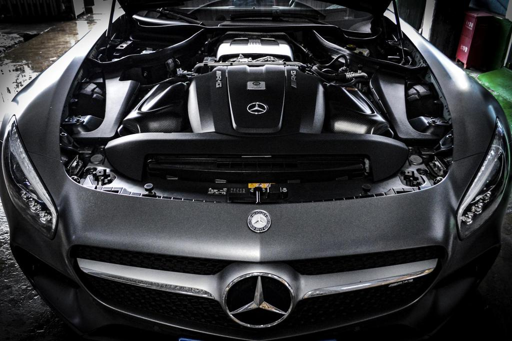 ARMA Speed - MERCEDES-BENZ AMG GT - HYPERFLOW CARBON FIBER COLD AIR INTAKE SYSTEM
