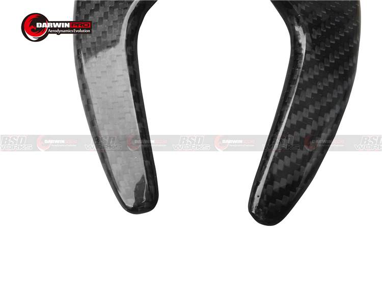Carbon Fiber PDK Paddle Shifters For Porsche GT3 911 997 991 970 Carrera Gen 1