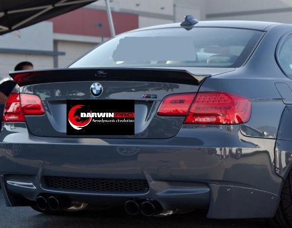 2008-2013 BMW M3 E92 2DR Coupe Carbon Fiber Rear Trunk Spoiler Body Kit