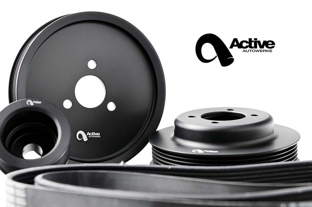 Active Autowerke - BMW E46 M3 POWER PULLEY KIT