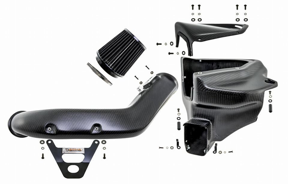 ARMA Speed - BMW - F87 M2 - HYPERFLOW CARBON FIBER COLD AIR INTAKE SYSTEM