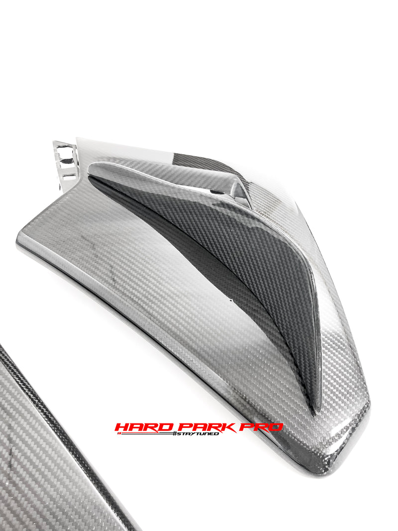 PSM Dynamic Mclaren 570S Coupe Front Side Air Ducts w/ Canards