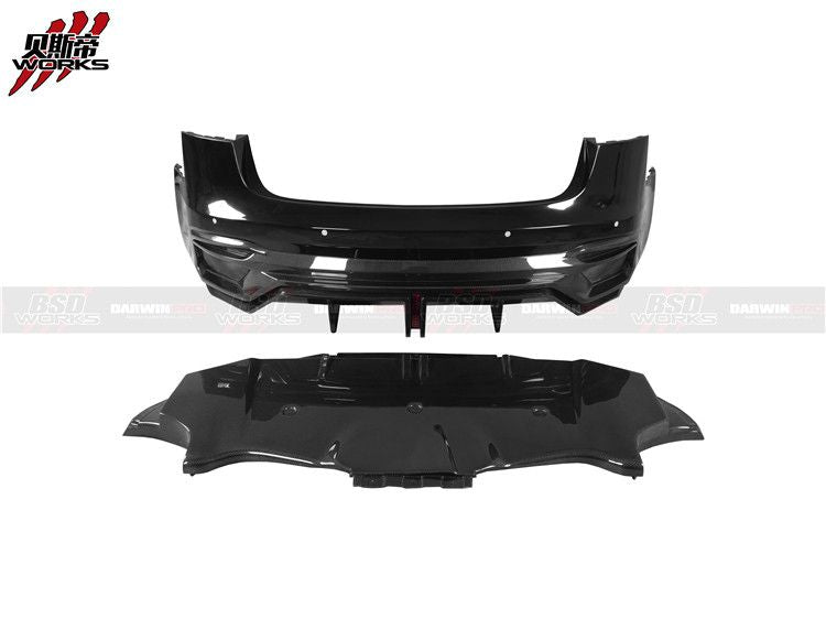 DarwinPro Model 3 IMP Style Carbon Fiber Full Wide Body Kit For Tesla
