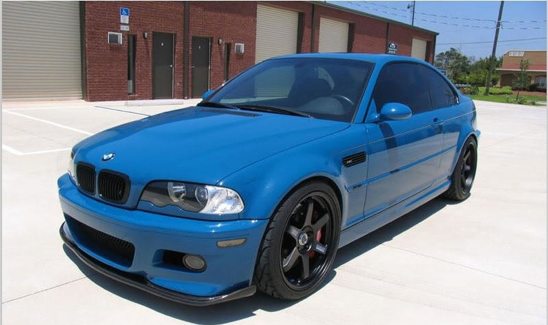 2001-2006 BMW E46 M3 HMN style Carbon Fiber Front Lip Spoiler Body Kit