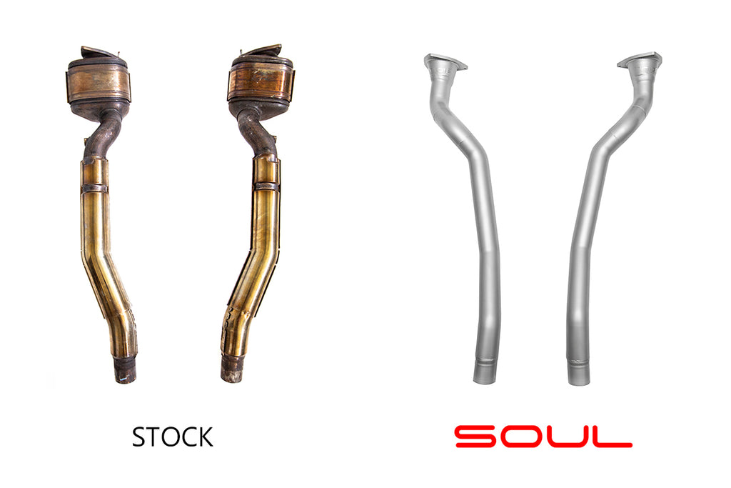 Soul Performance - Ferrari FF Competition Downpipes