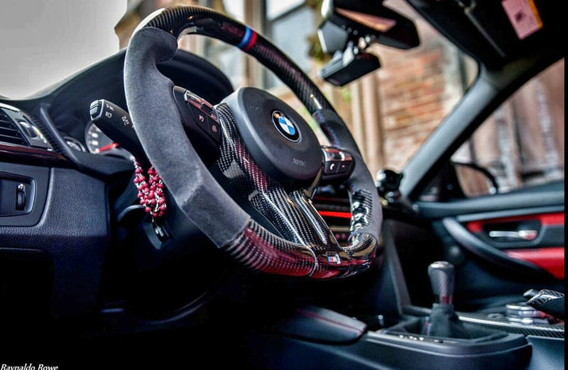 DINMANN CF – Carbon Fiber Steering Wheel for X5 X6 X5M