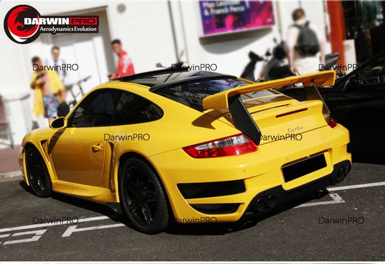 2005-2012 Carrera 911/997 TA Style FRP Rear Trunk Spoiler Wing Fit Porsche