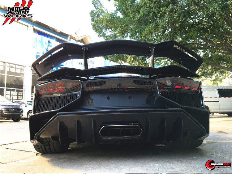DarwinPRO Lamborghini Aventador LP700 Part Carbon Fiber SV Style LP750 Body Kit