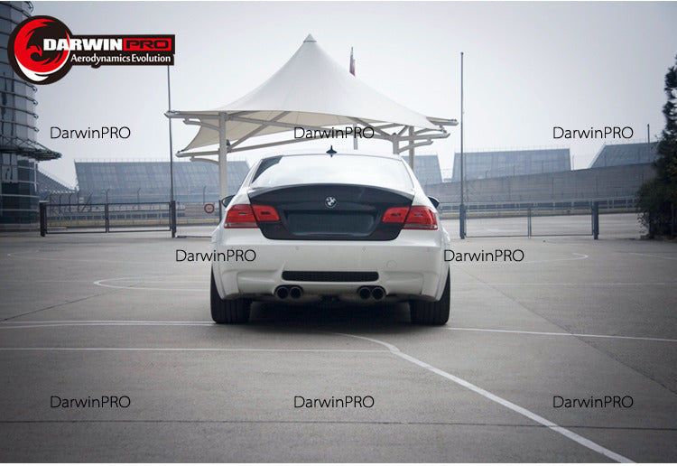 2007-2013 BMW 3 Series/M3 E92 2DR Coupe CSL Style Carbon Fiber Trunk High Kick