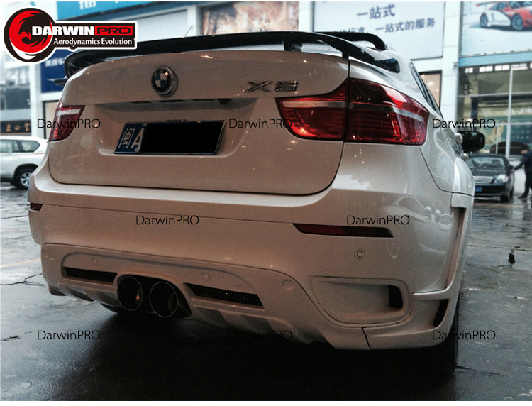 2008-2014 BMW X6 E71 HM-2 Style Full Wide Body Kit Conversion W/ Exhaust