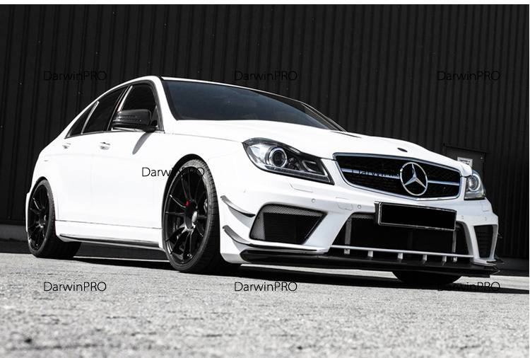 Darwin Pro - 2012-2014 Mercedes Benz C63 AMG 4DR Sedan BE Style Carbon Wide Body Conversion