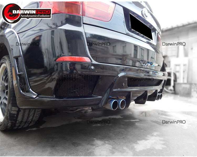 2007-2010 BMW X5 E70 HM Style Full Wide Body Kit Conversion Kit Perfect Fitment
