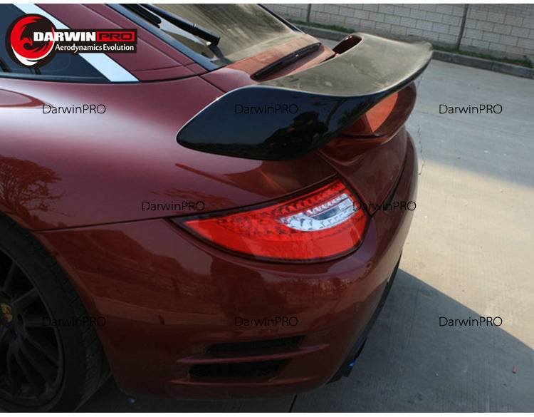 2005-2012 Carrera 911/997 Portion Carbon GT2 Style Trunk SpoilerWing Fit Porsche