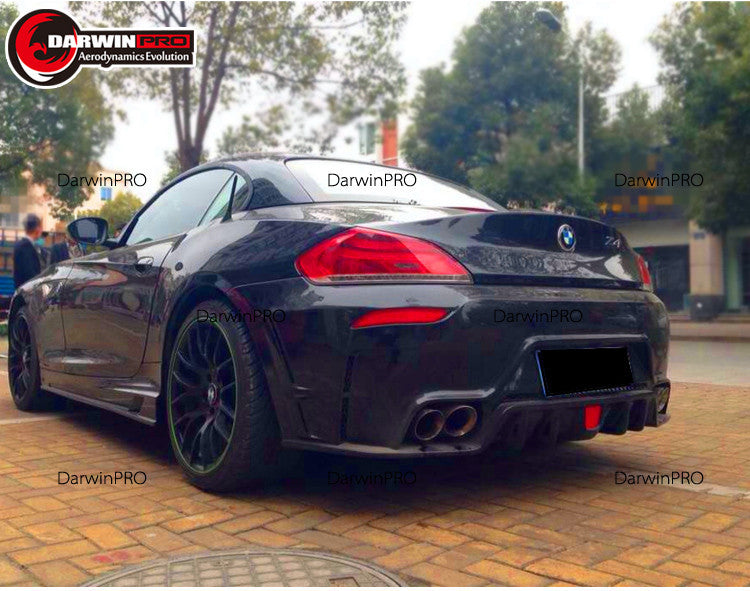 2009-2015 BMW Z4 E89 RW Style Full Body Kit With DRL Lights Bumpers/Skirts