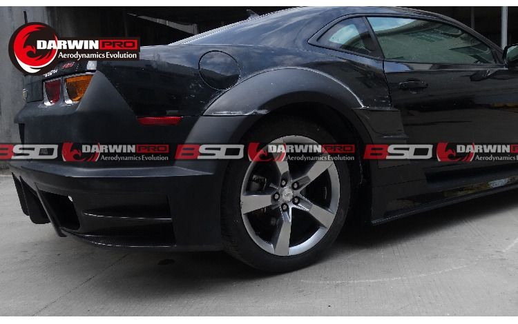 2010-2015 Chevrolet Camaro DP Style FRP Full Wide Body Kit Bumpers/Flares/Skirts