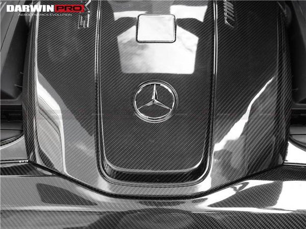 DarwinPRO Mercedes Benz AMG GT & GTS Carbon Fiber Engine Cover & Radiator