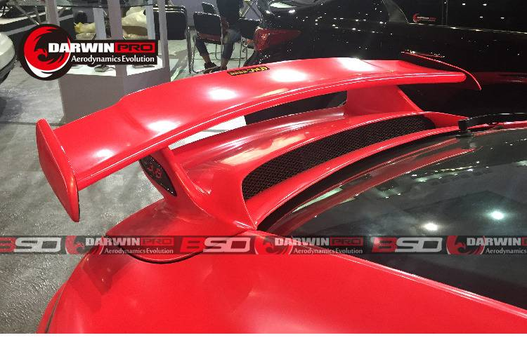 2013-2016 Carrera 911 991 GT3 Style Carbon Fiber Trunk Spoiler Wing For Porsche