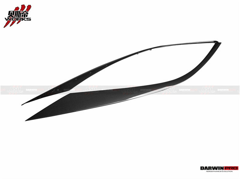 DarwinPRO McLaren 540C 570S 570GT OE Style Carbon Fiber Window Trim Set