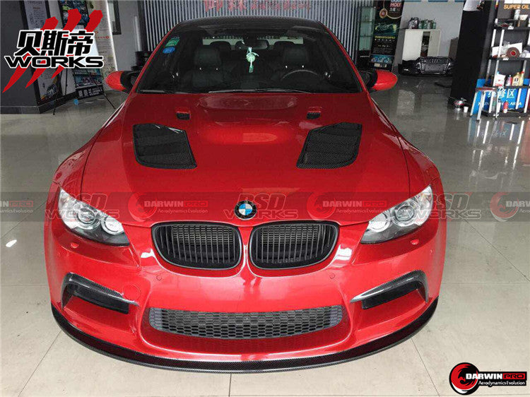 2008-2013 BMW M3 E92 E93 2DR Coupe AK Style Front Bumper Body Kit